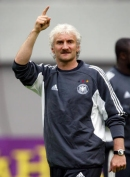 Rudi Voeller - Germany manager